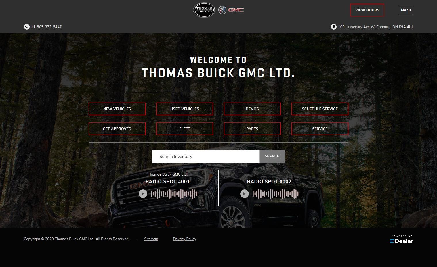 Thomas Buick GMC Ltd