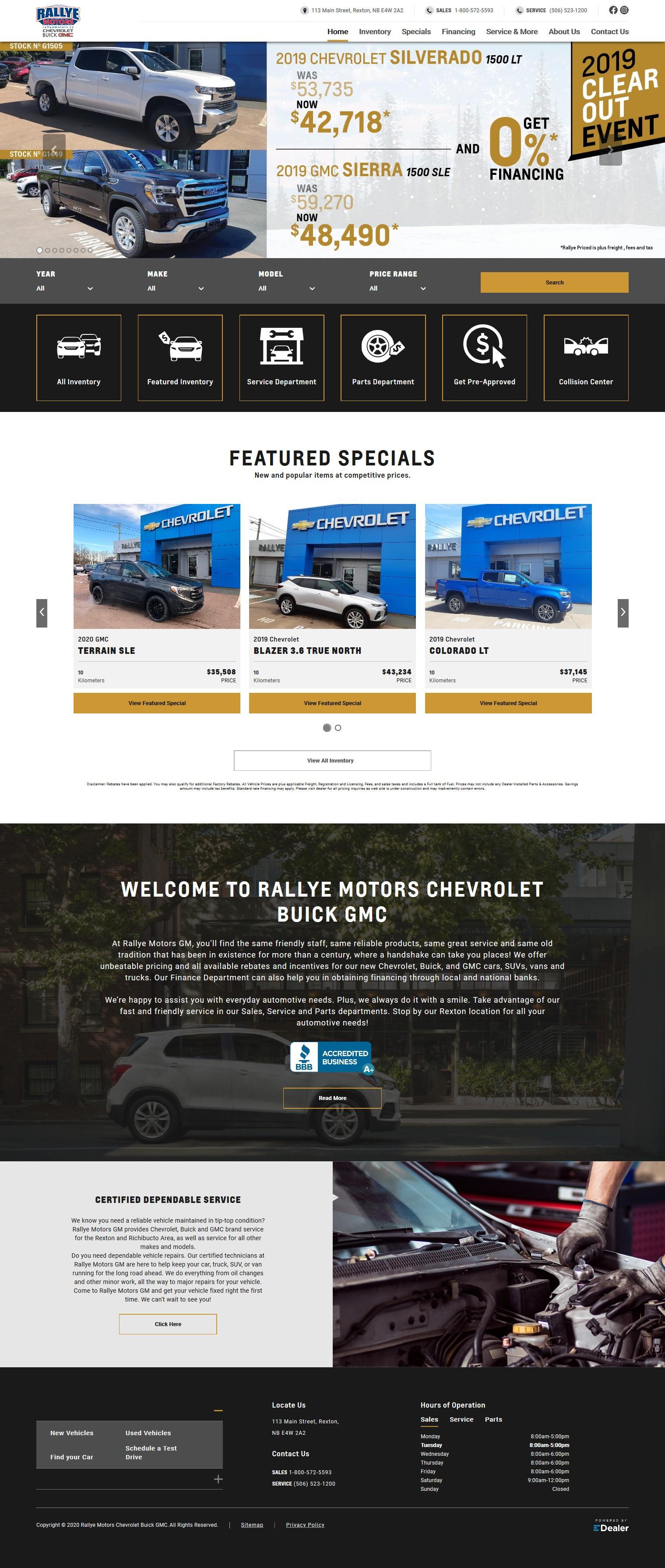 Rallye Motors Chevrolet Buick GMC