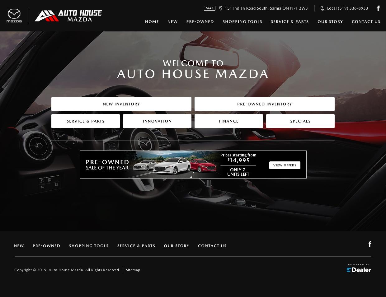 Auto House Mazda