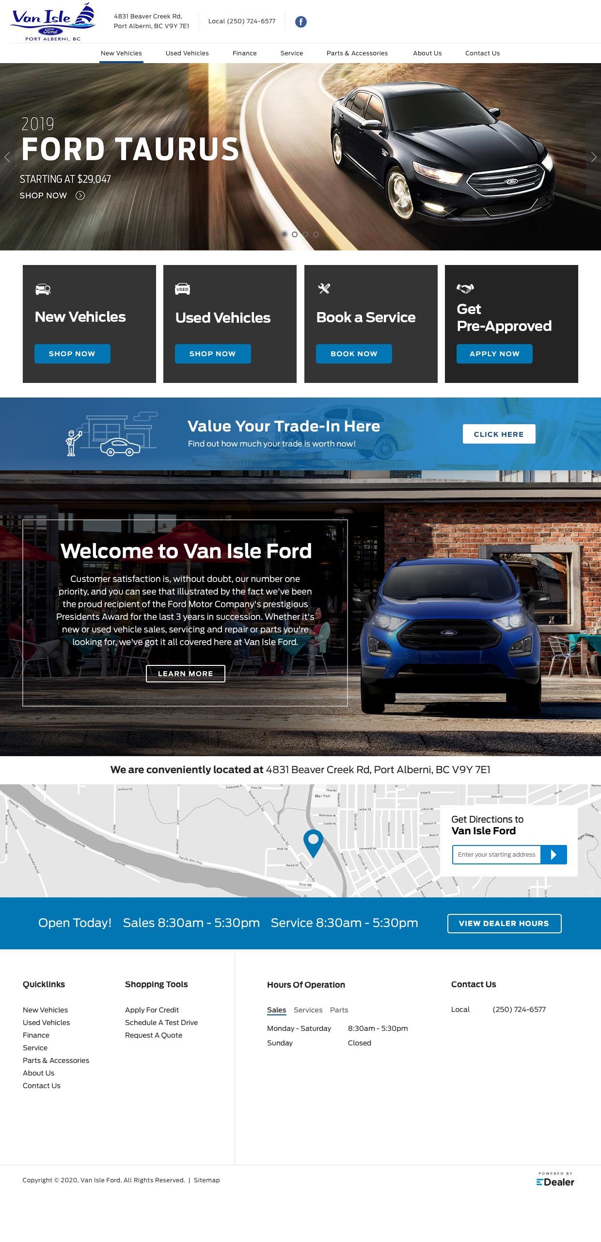 Van Isle Ford