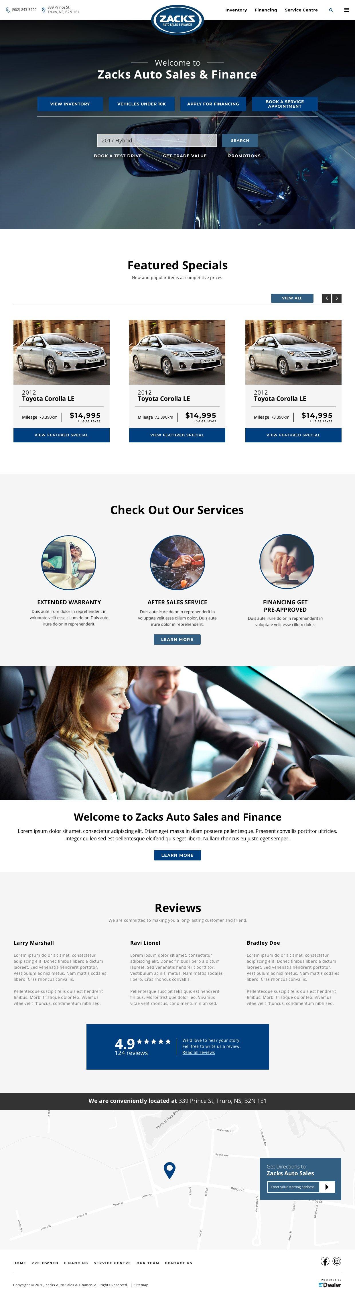 Zacks Auto Sales