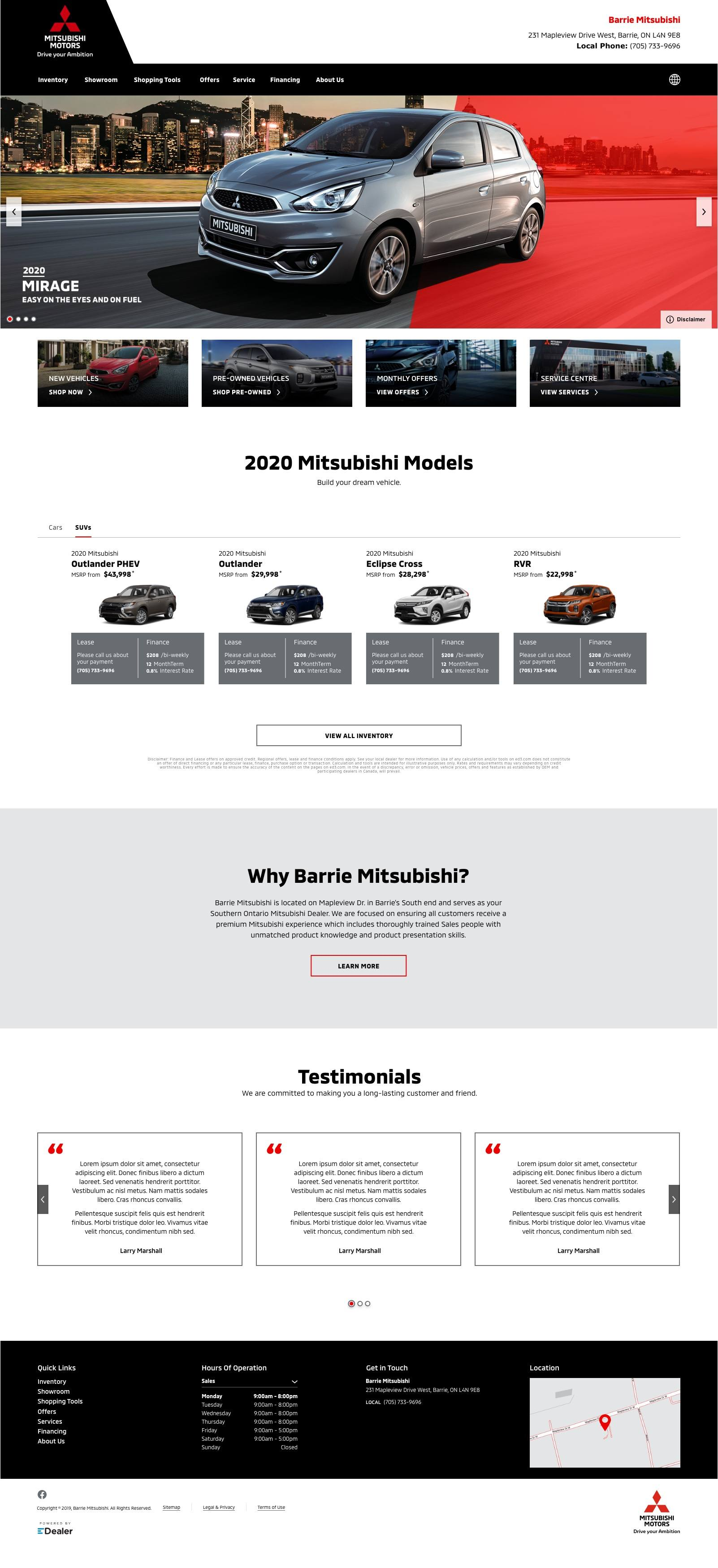 Barrie Mitsubishi
