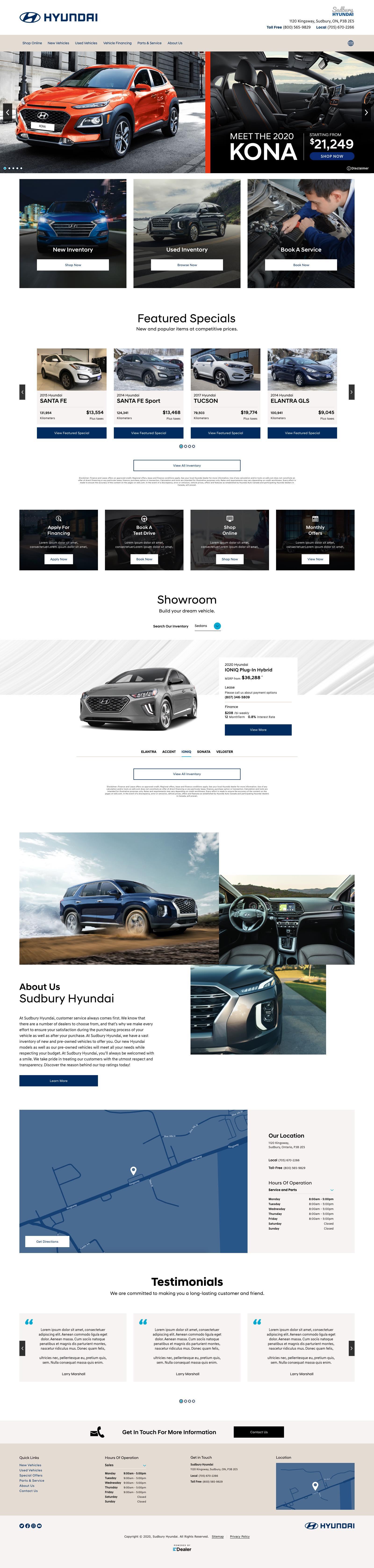 Sudbury Hyundai