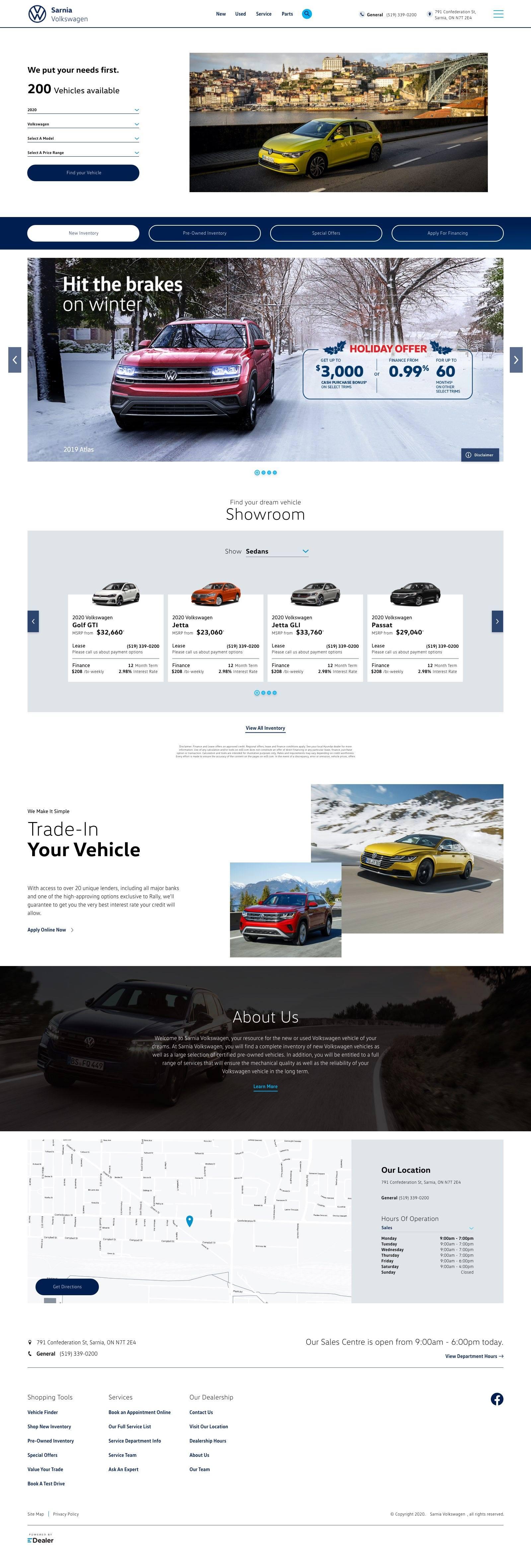 Sarnia Volkswagen