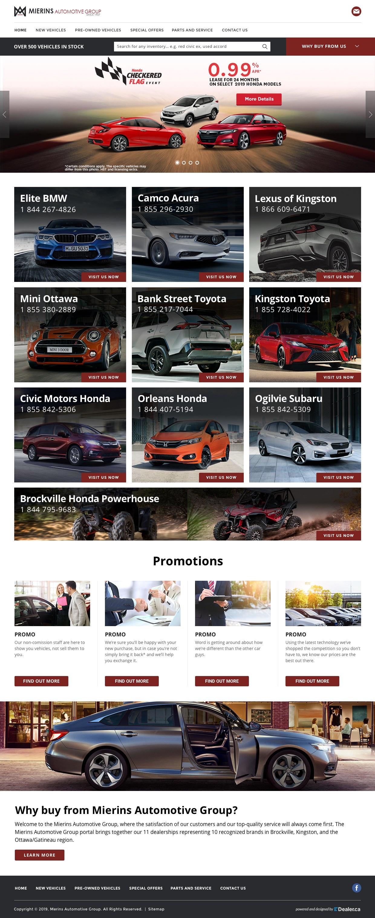 Mierins Automotive Group