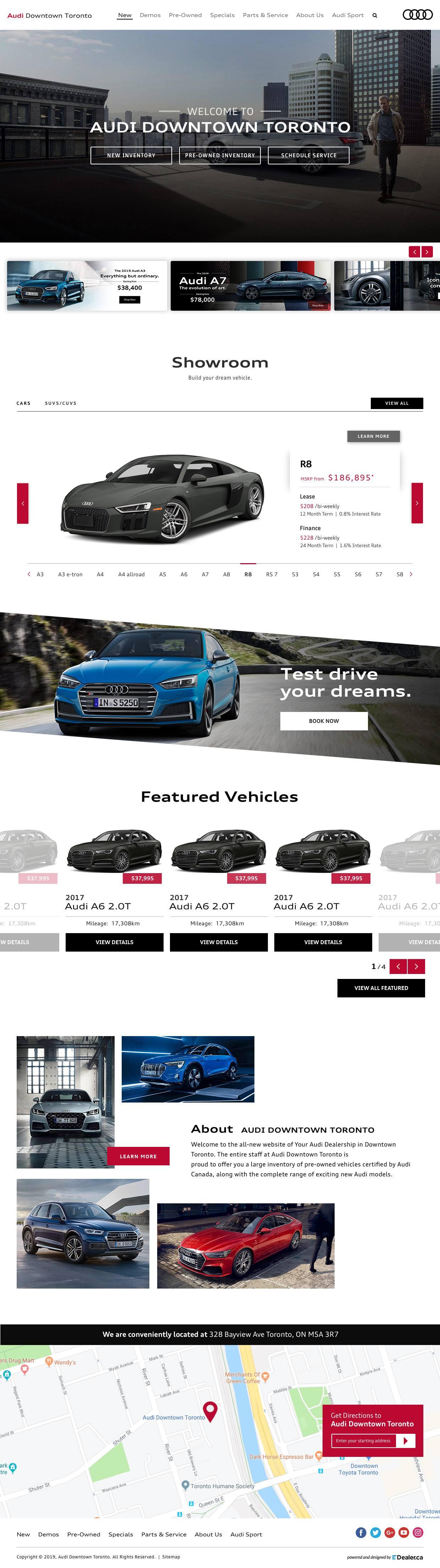 Audi Downtown Toronto