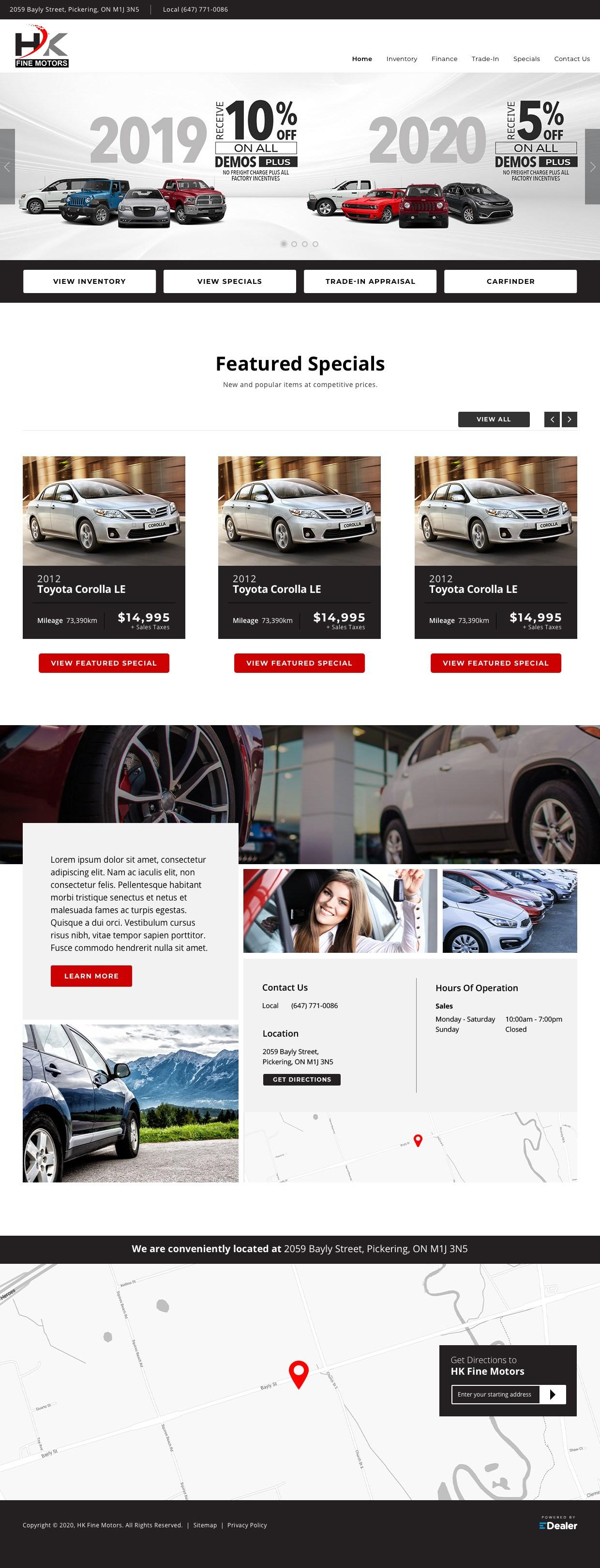 HK Fine Motors