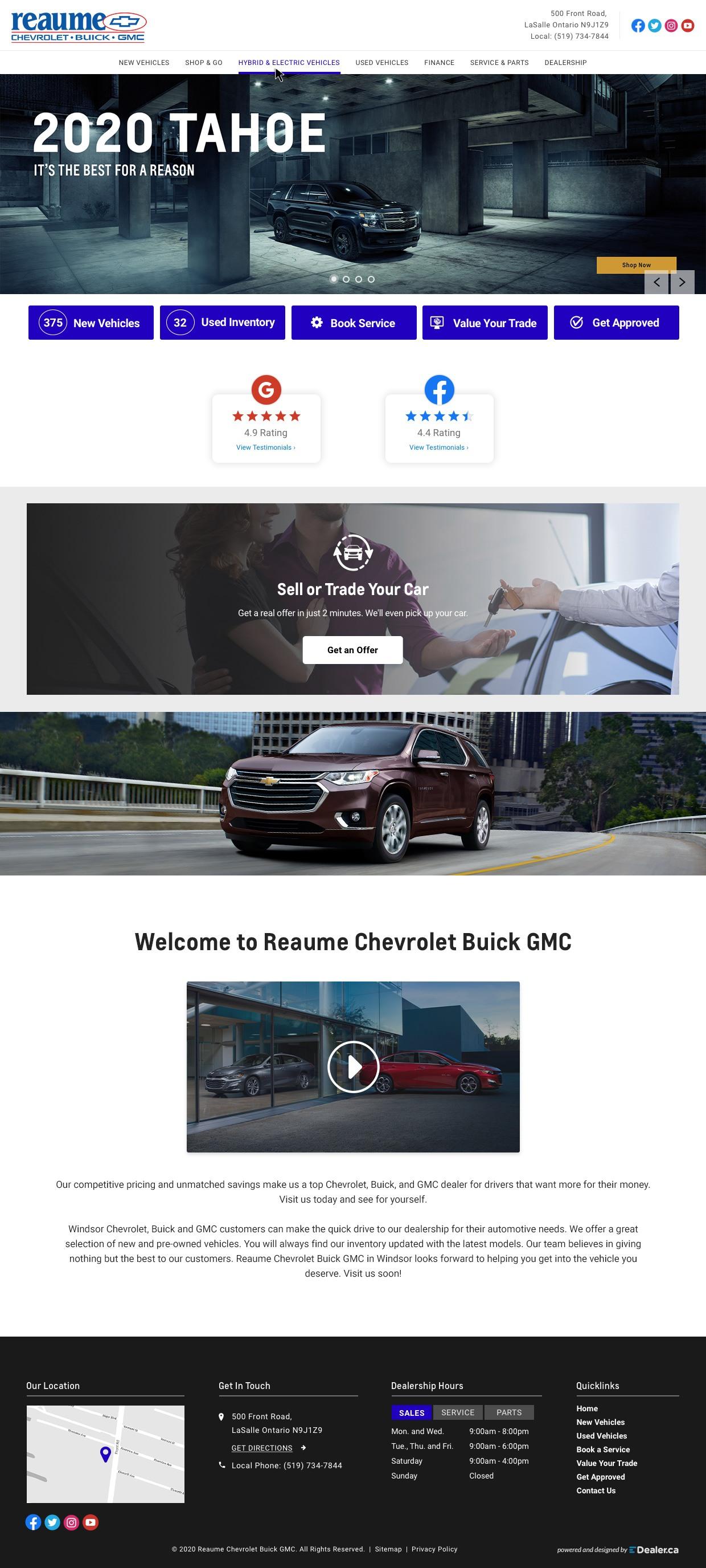 Reaume Chevrolet Buick GMC