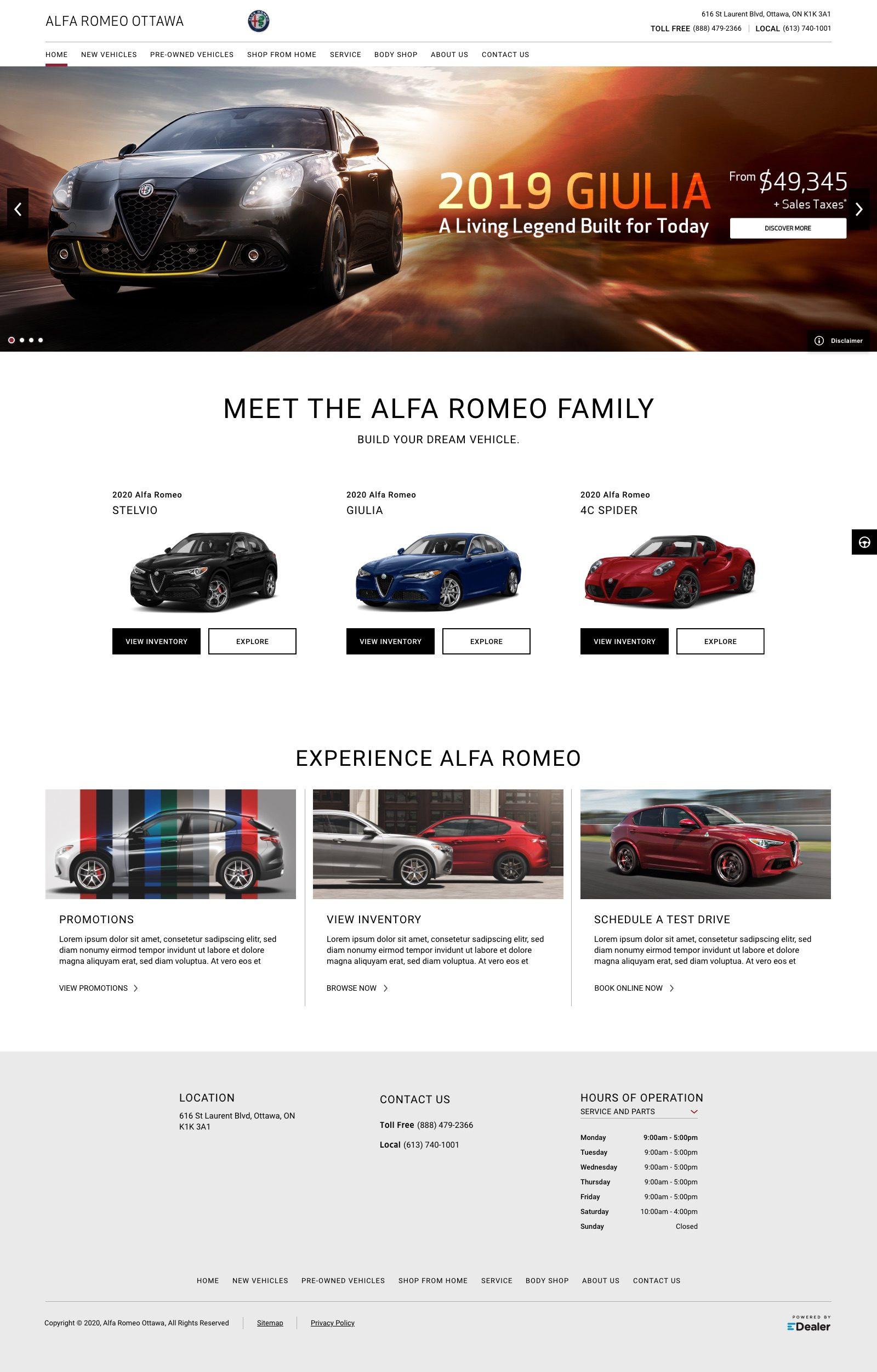 Alfa Romeo Ottawa