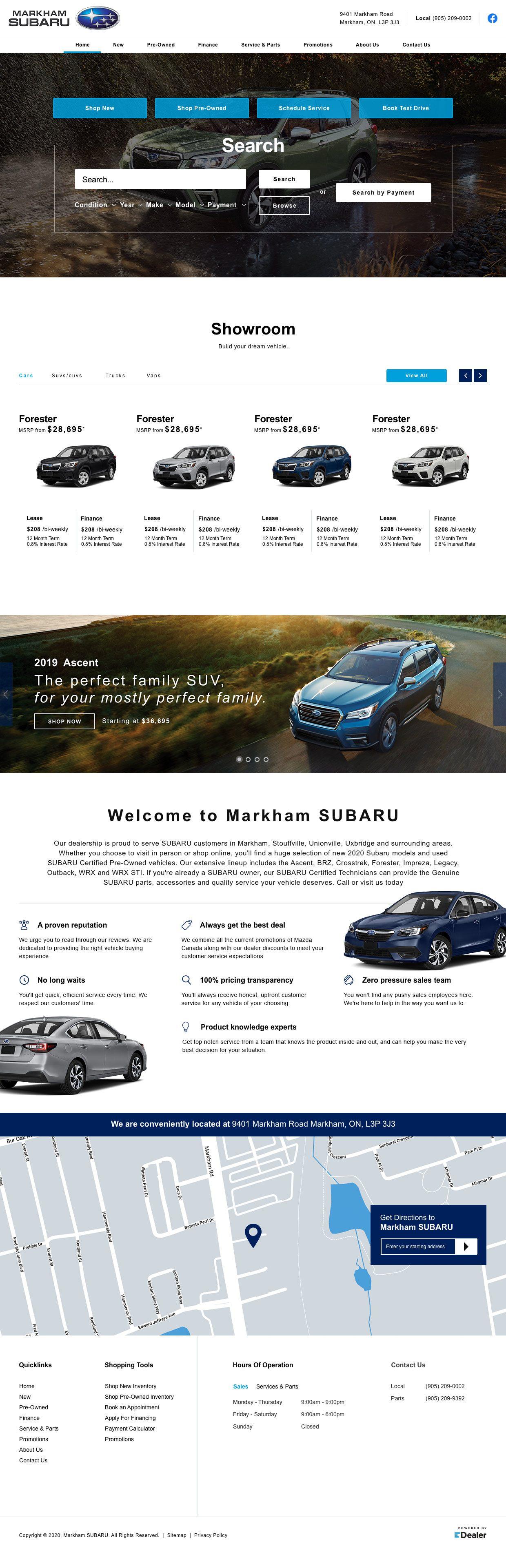 Markham Subaru