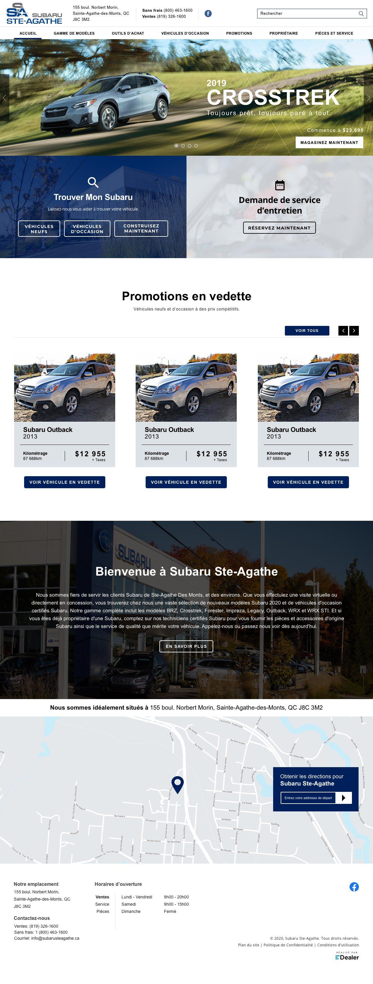 Subaru Ste-Agathe
