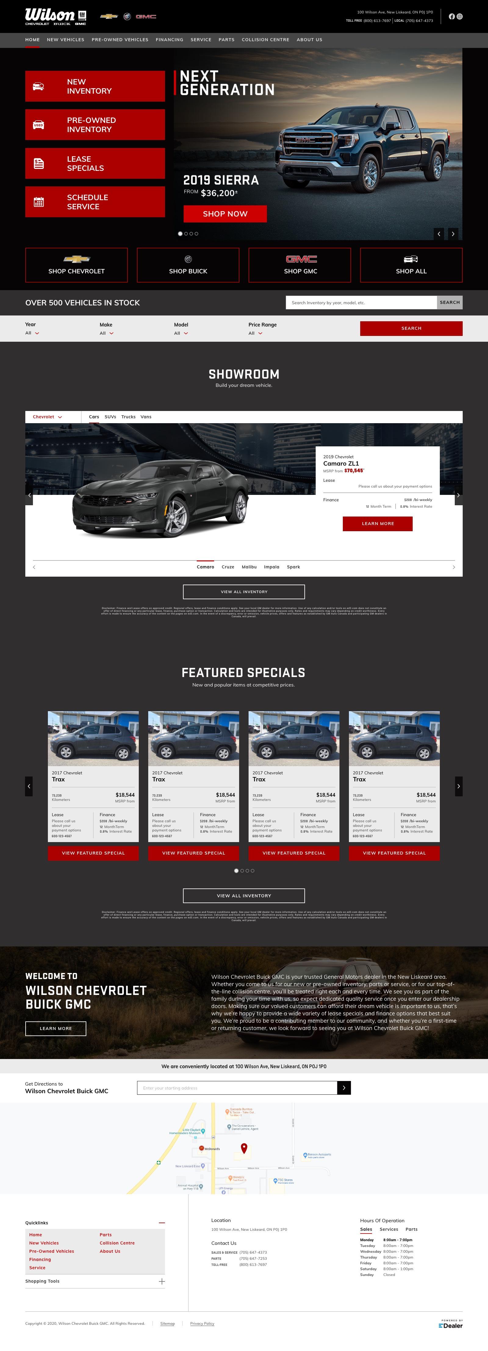 Wilson Chevrolet Buick GMC