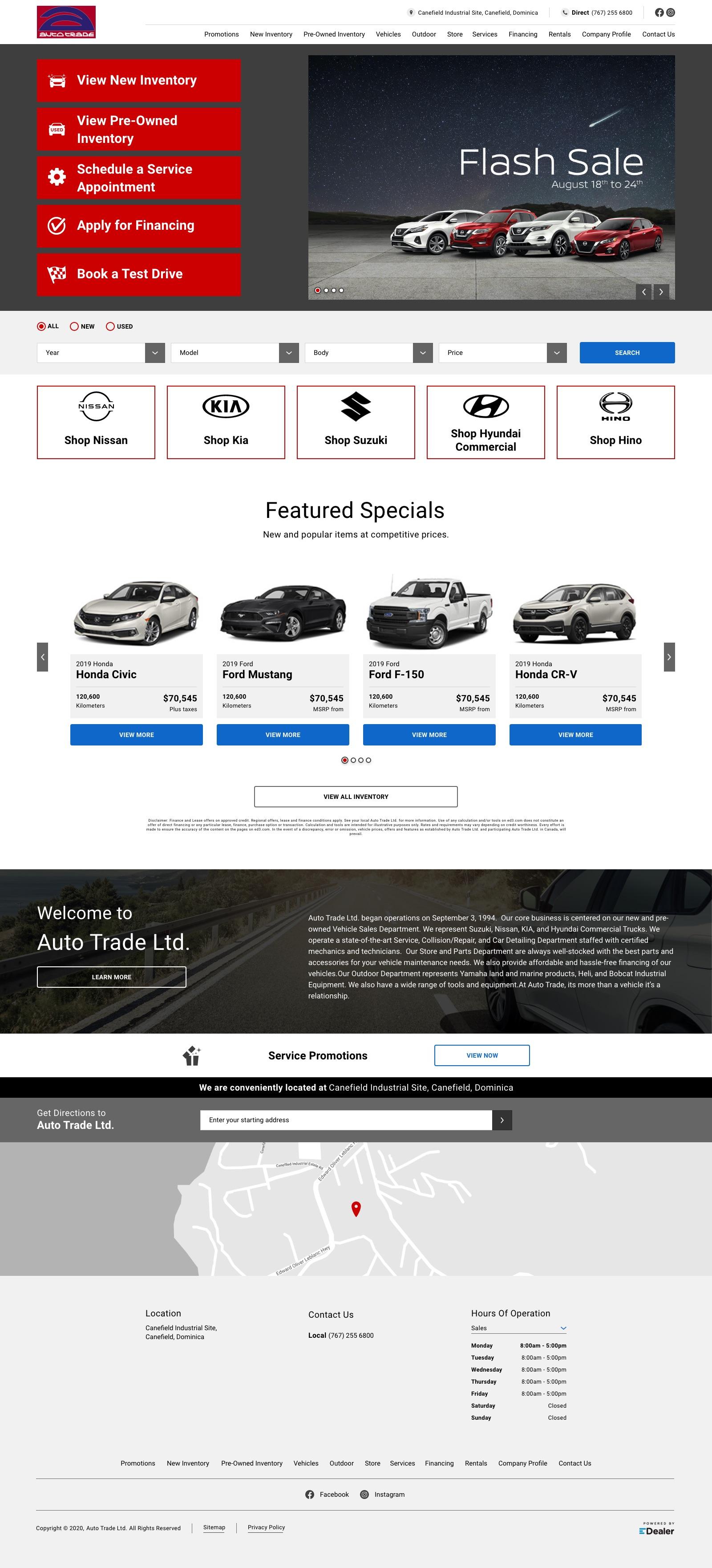 Auto Trade Ltd