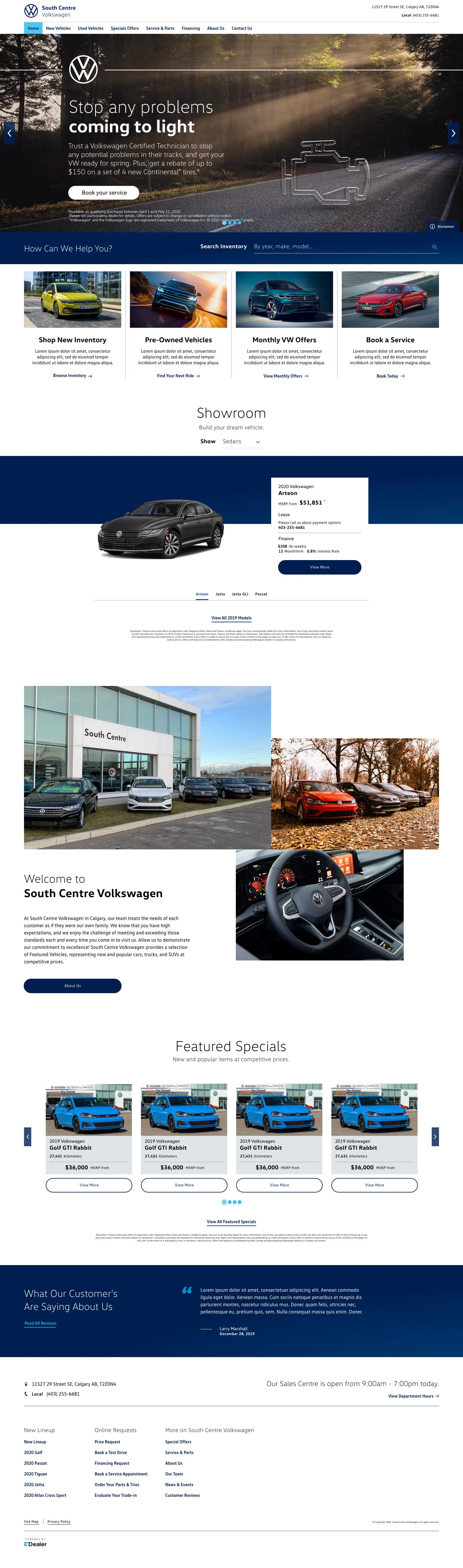 South Centre Volkswagen