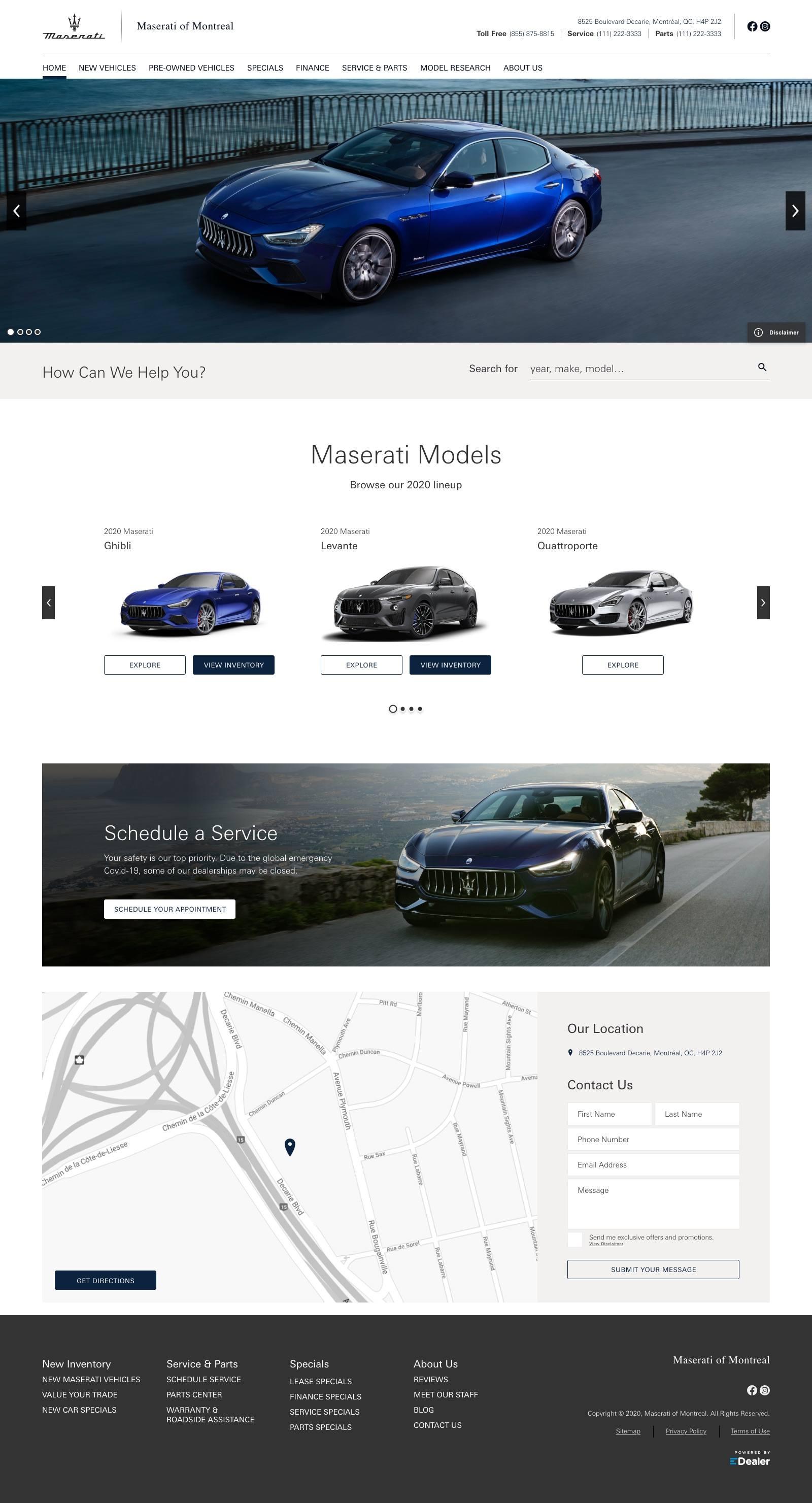 Maserati of Montreal
