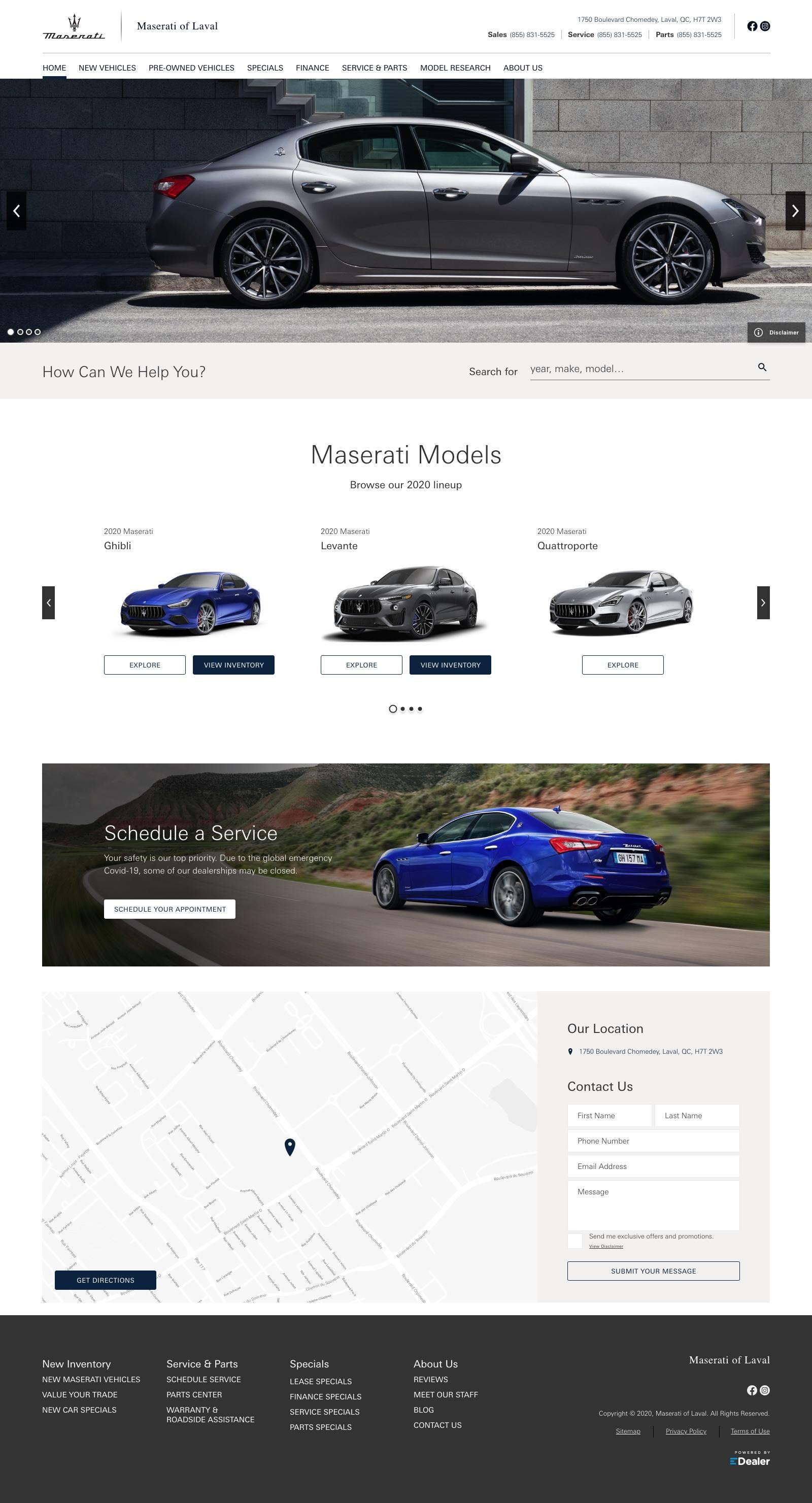 Maserati of Laval