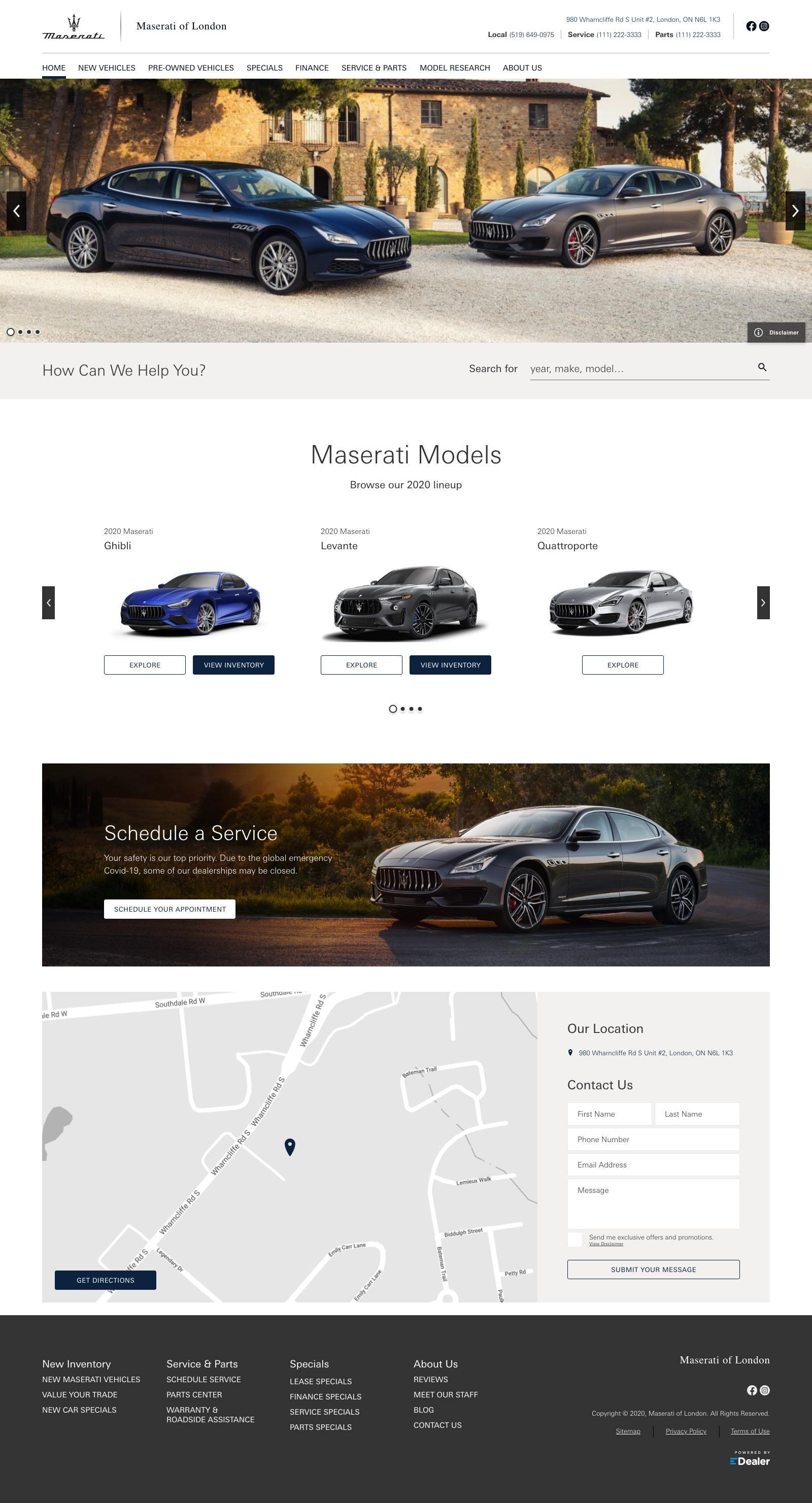 Maserati of London