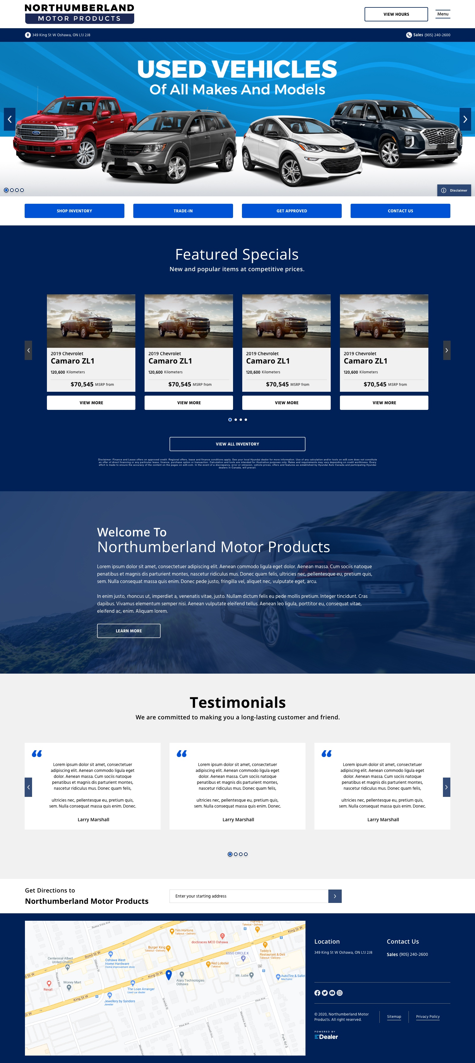 Northumberland Motor Products