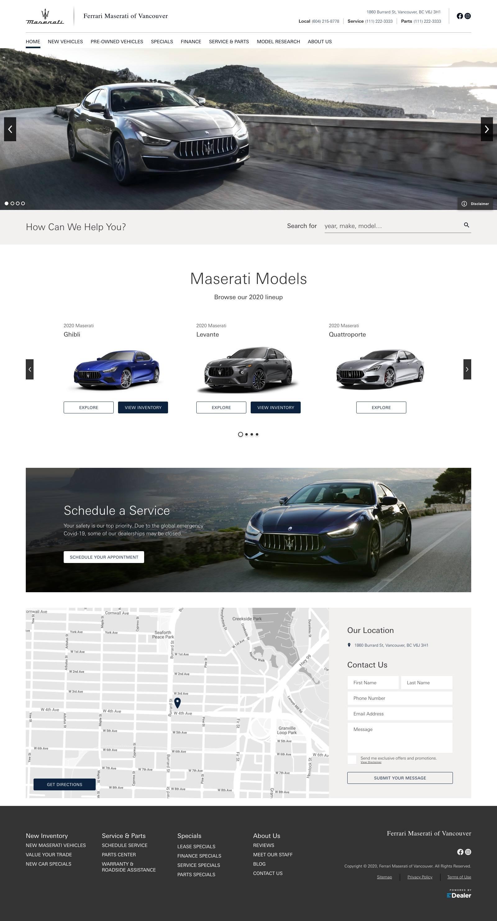 Maserati of Vancouver