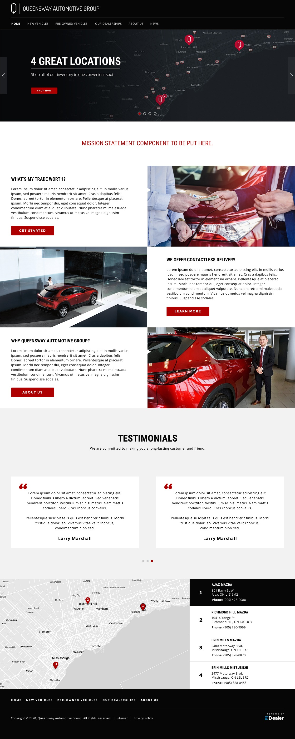 Queensway Automotive Group