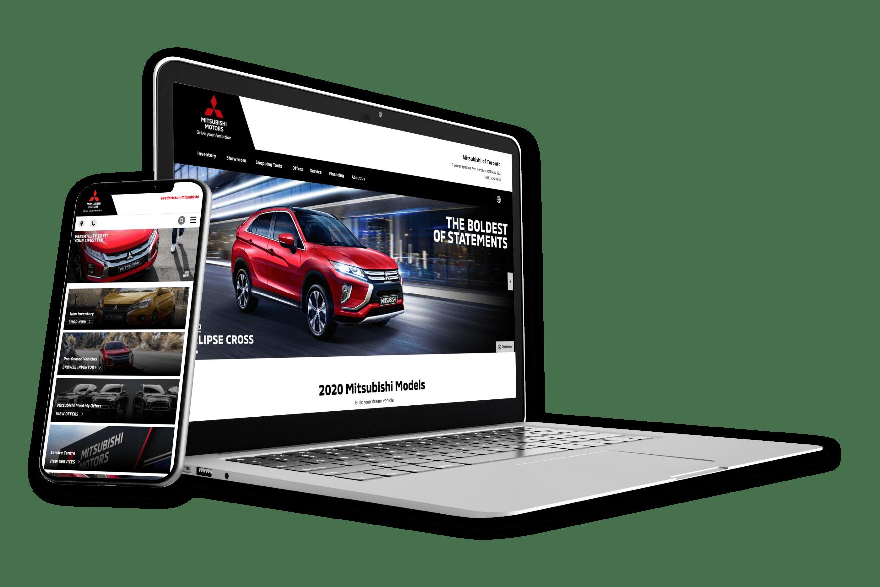 Mitsubishi Mockup