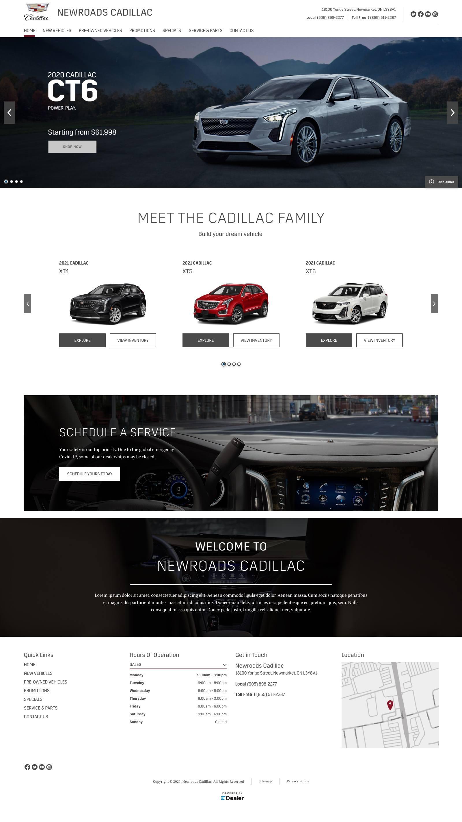 NewRoads Cadillac