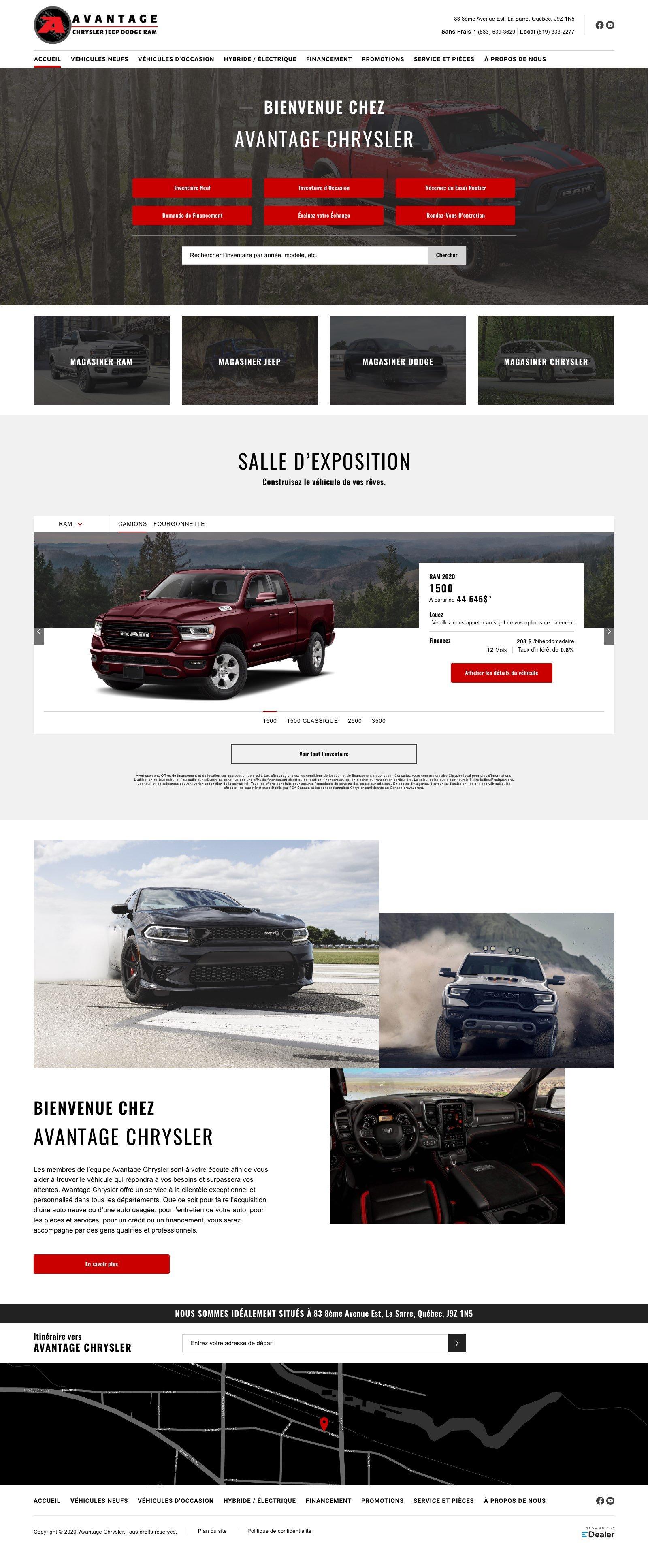 Avantage Chrysler