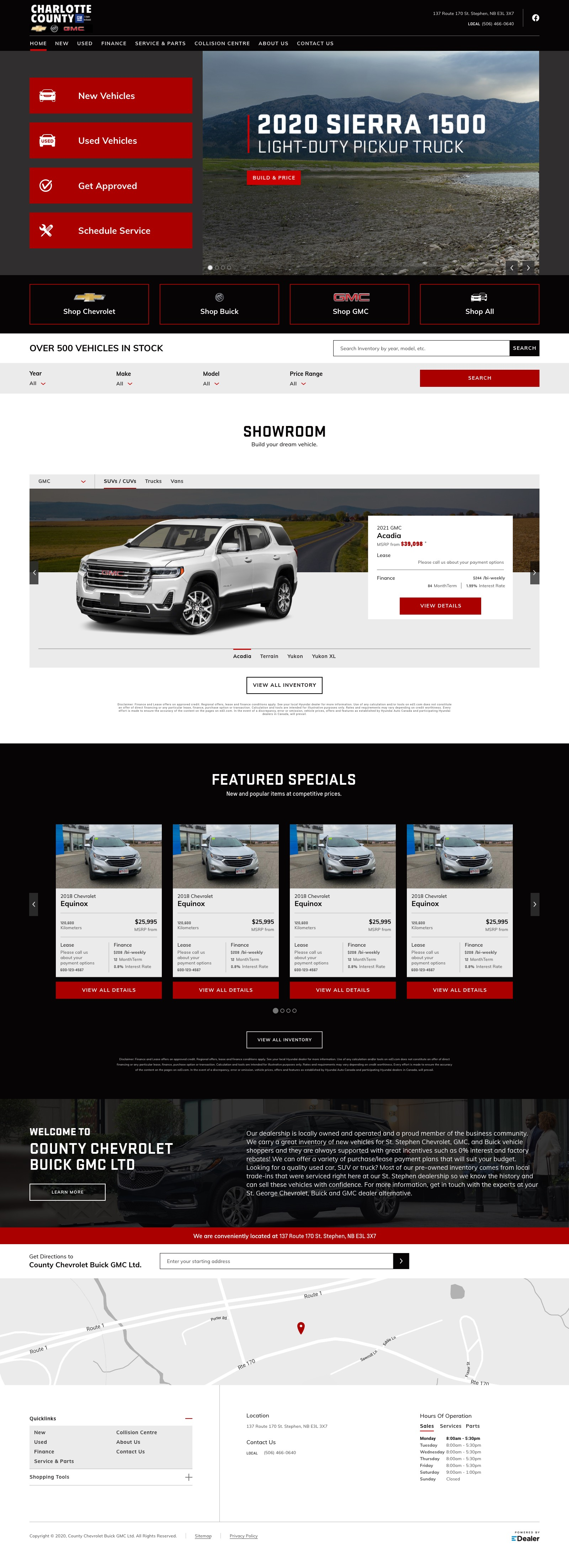 Charlotte County Chevrolet Buick GMC Ltd