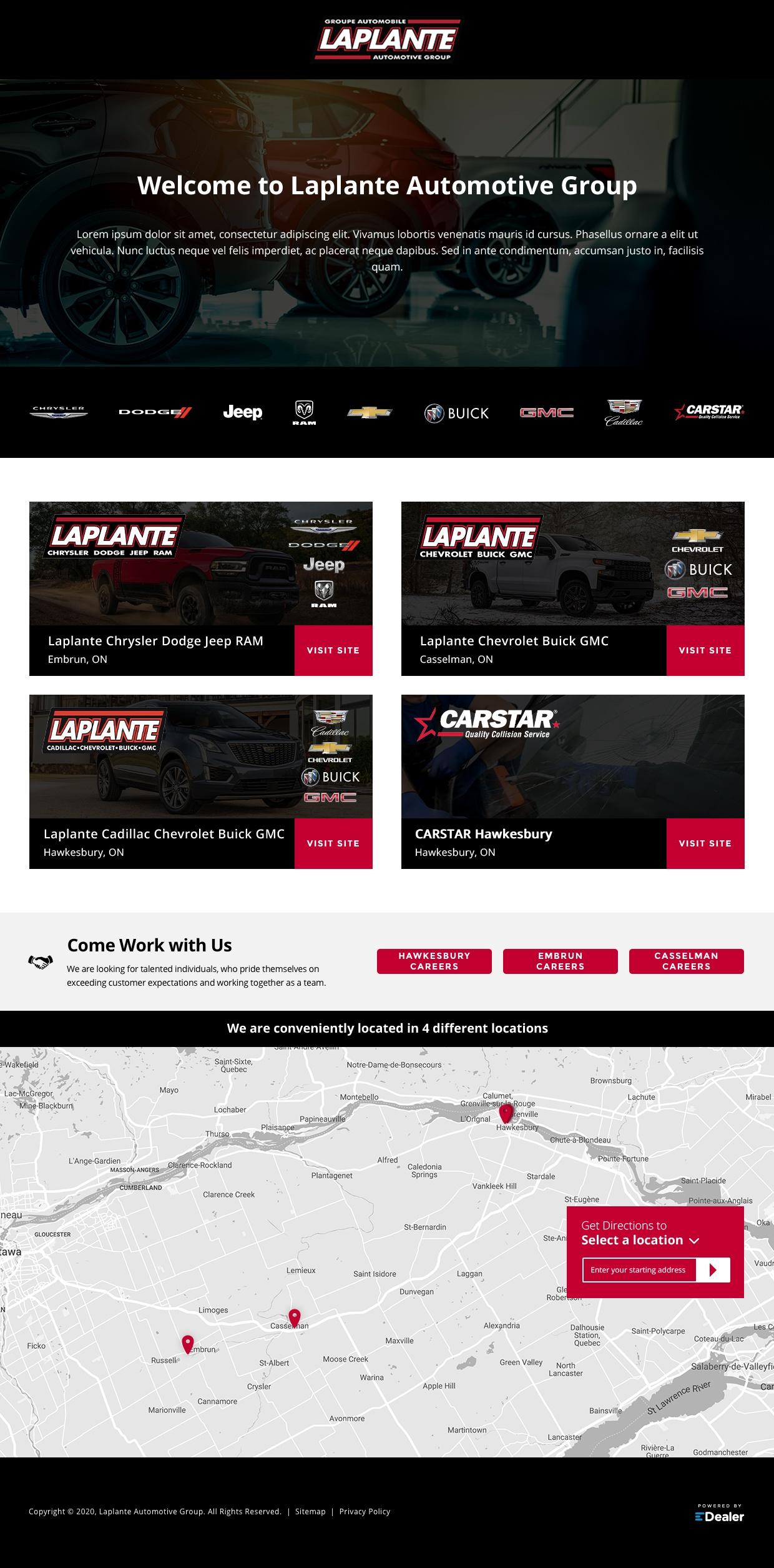 Laplante Group Site