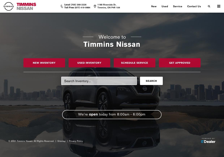 Timmins Nissan