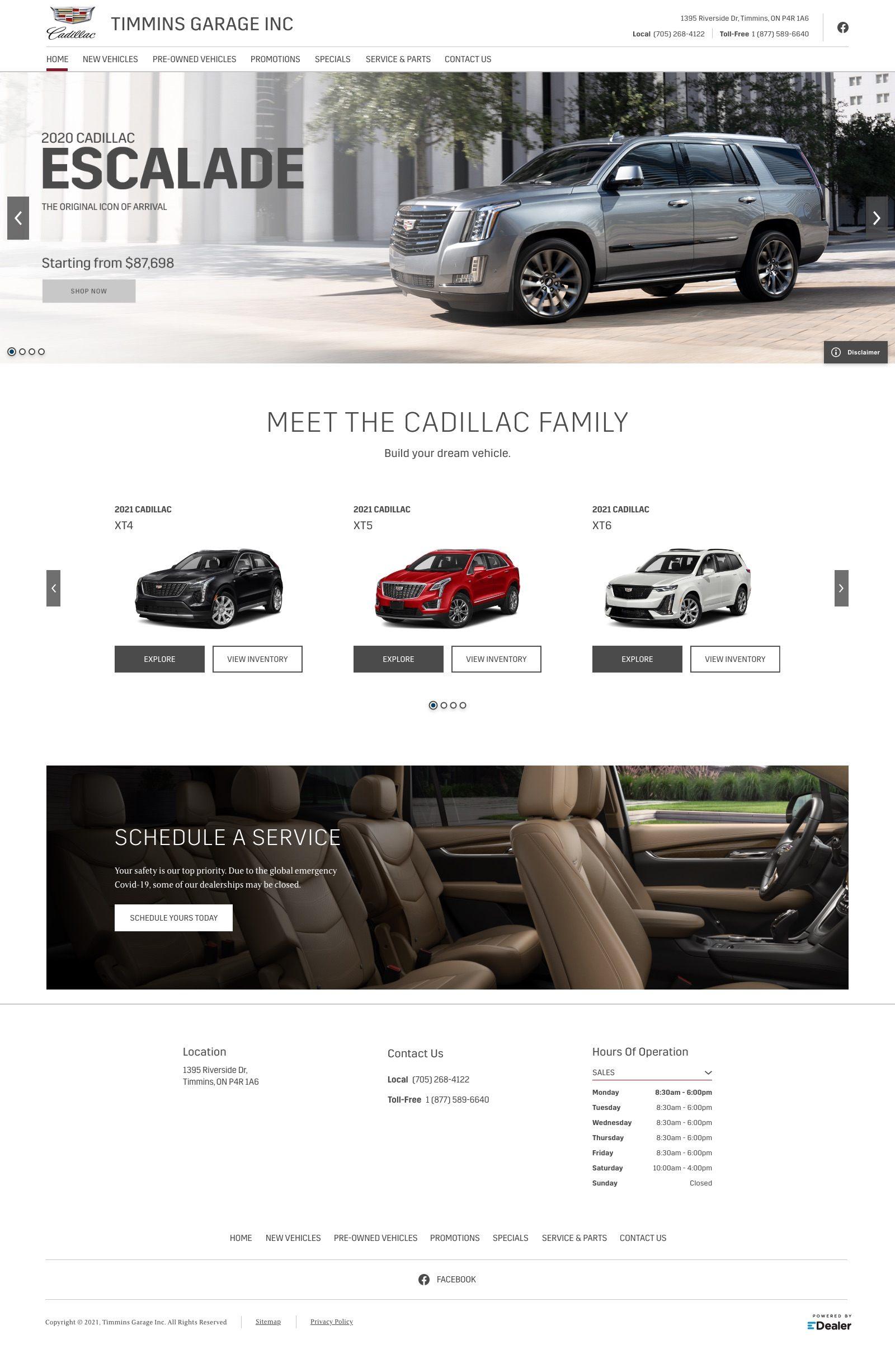 Timmins Cadillac