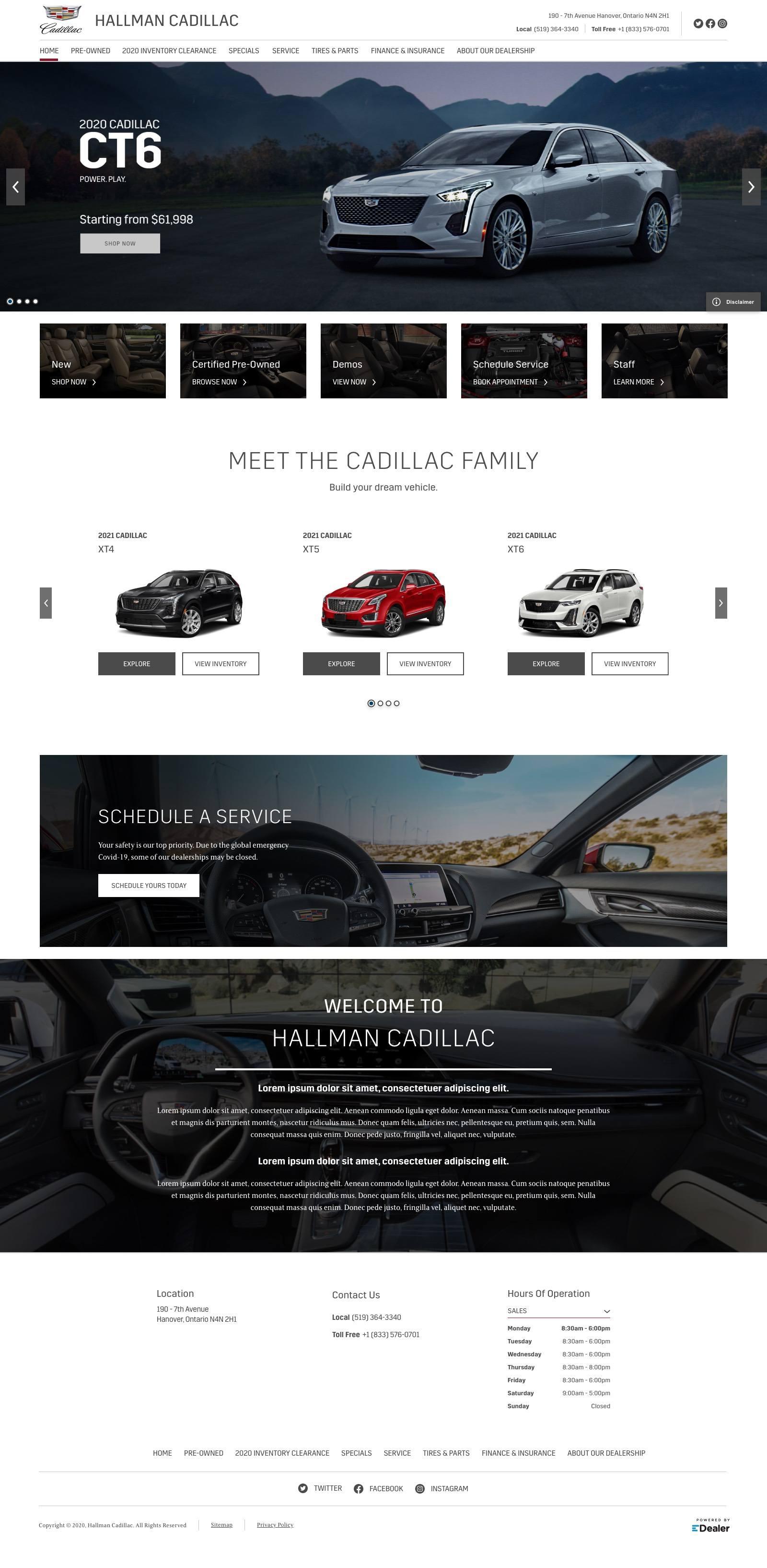 Hallman Cadillac
