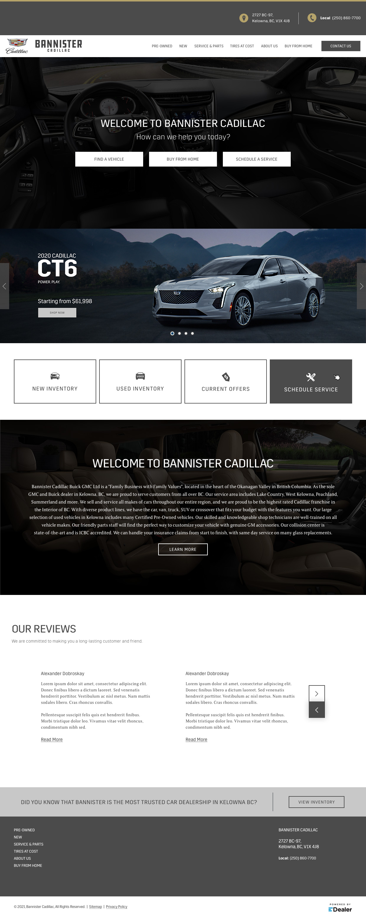 Bannister Cadillac