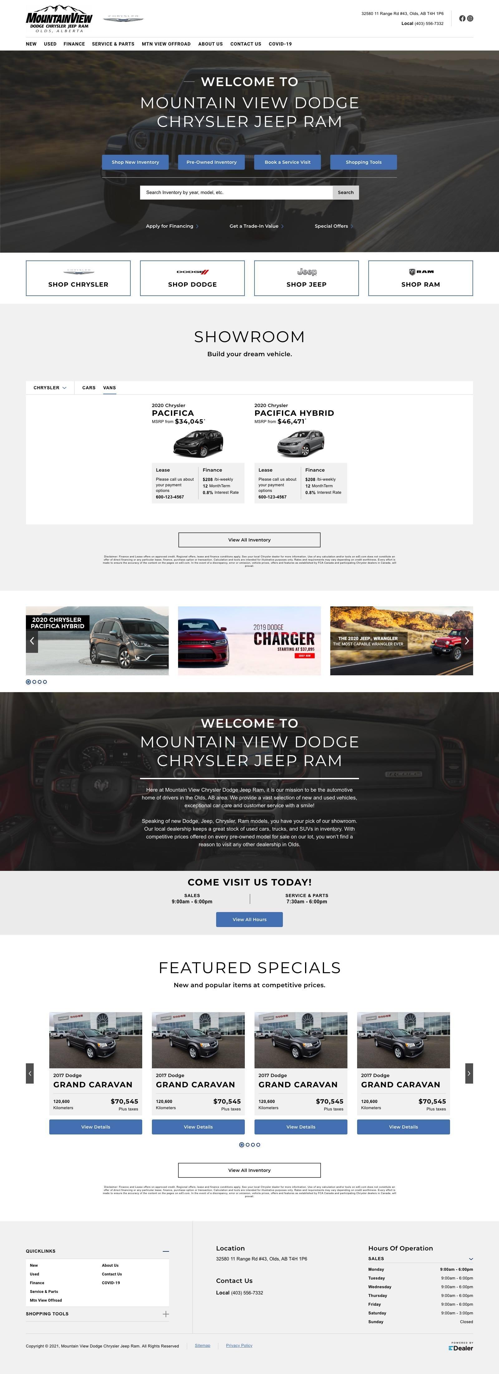 Mountain View Dodge Chrysler