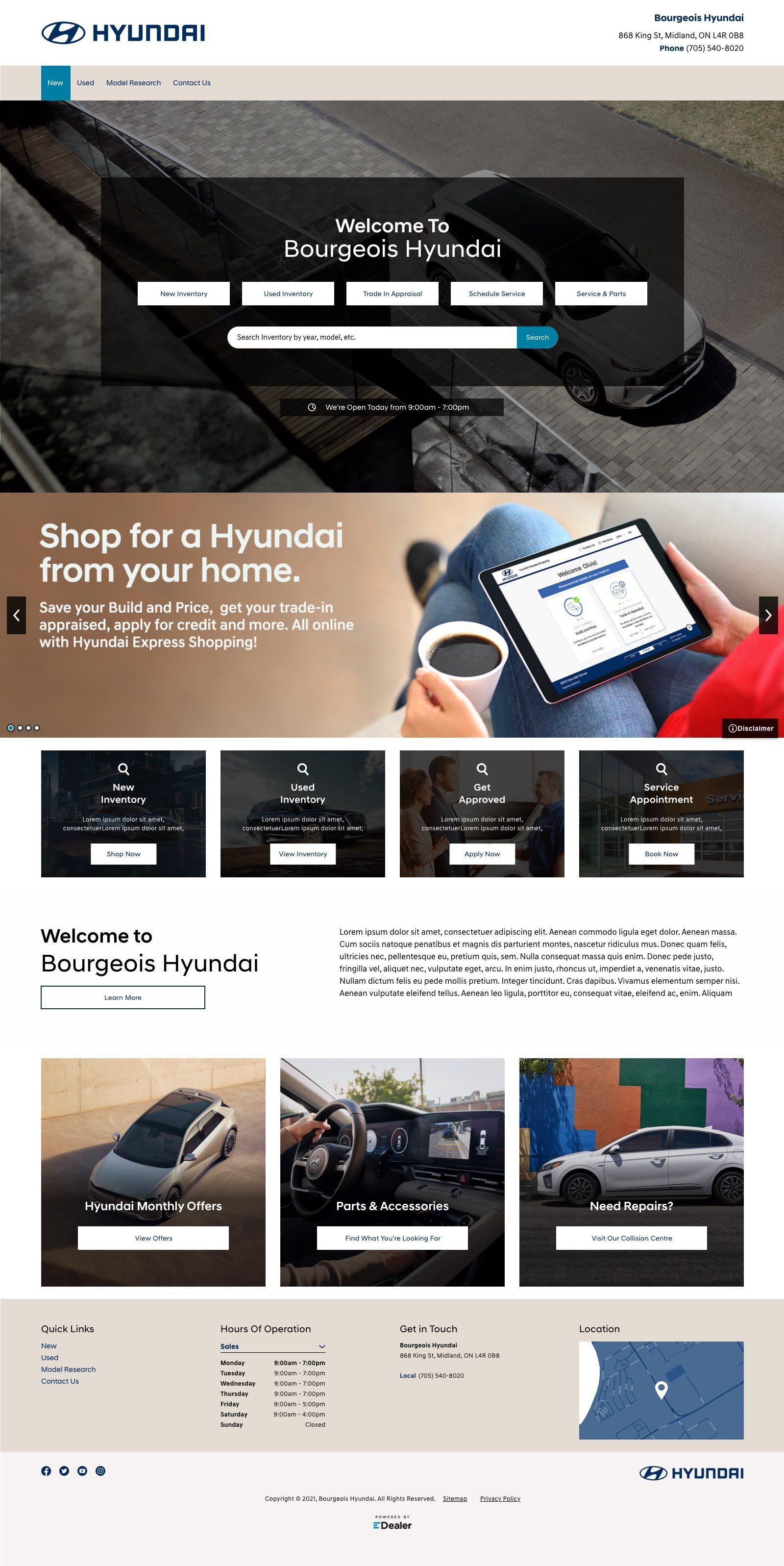 Bourgeois Midland Hyundai