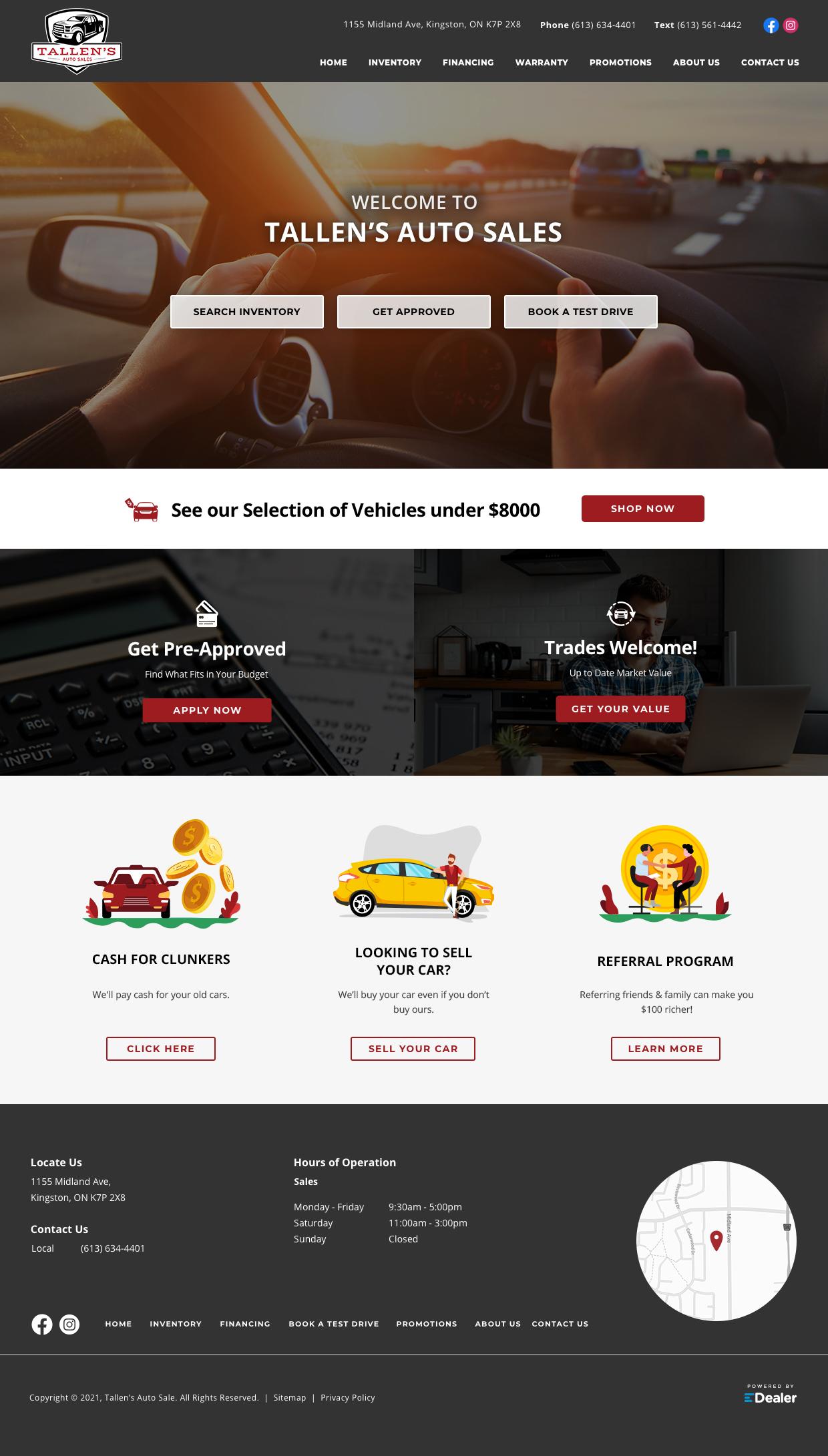 Tallen's Auto Sales
