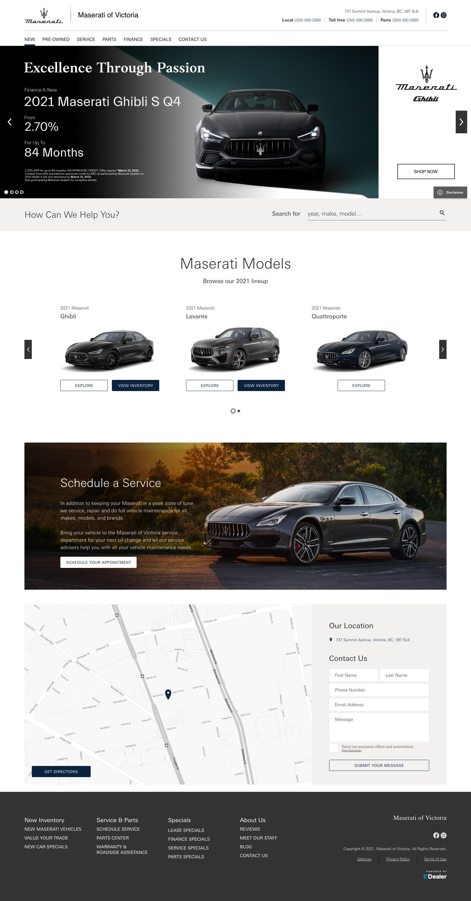Maserati of Victoria