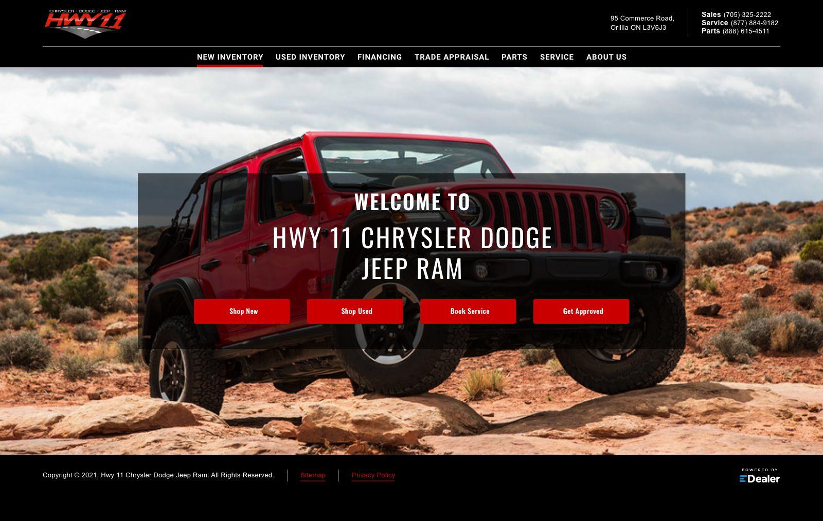 Hwy 11  Chrysler Dodge Jeep Ram
