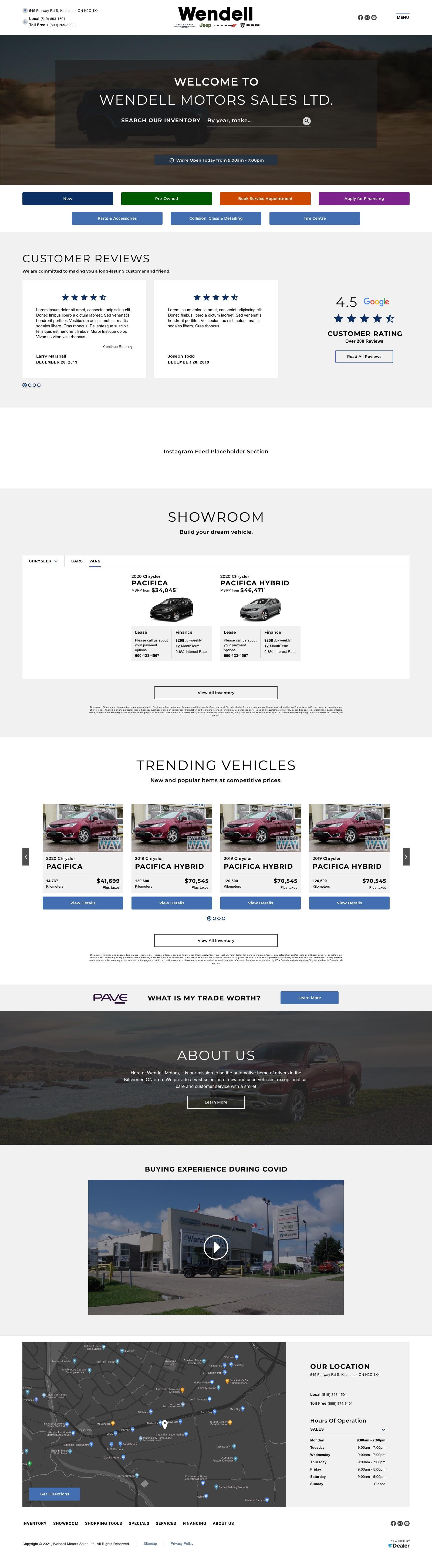 Wendell Motor Sales Ltd