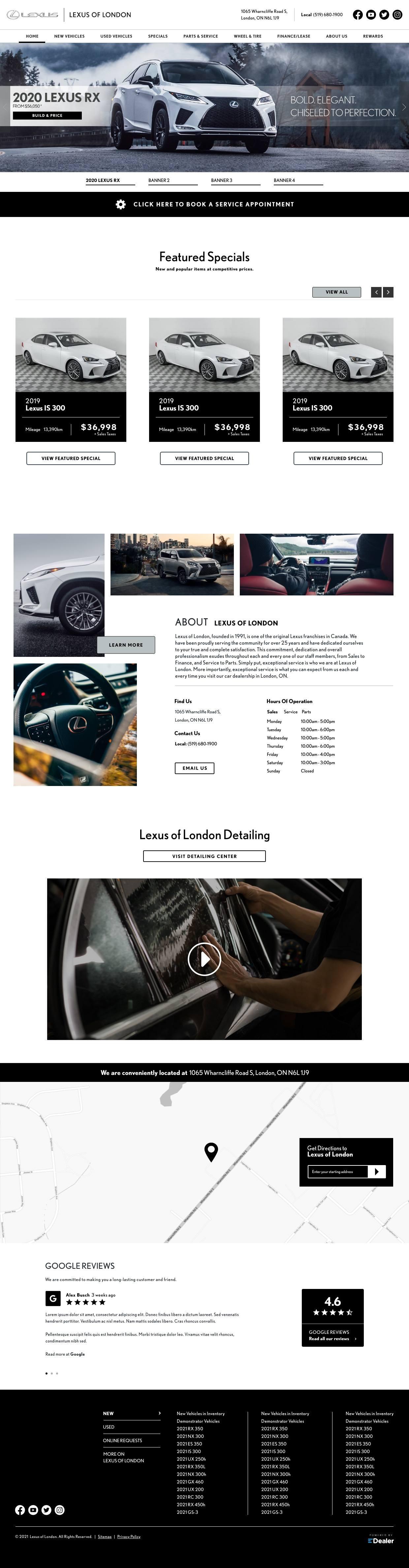 Lexus Of London