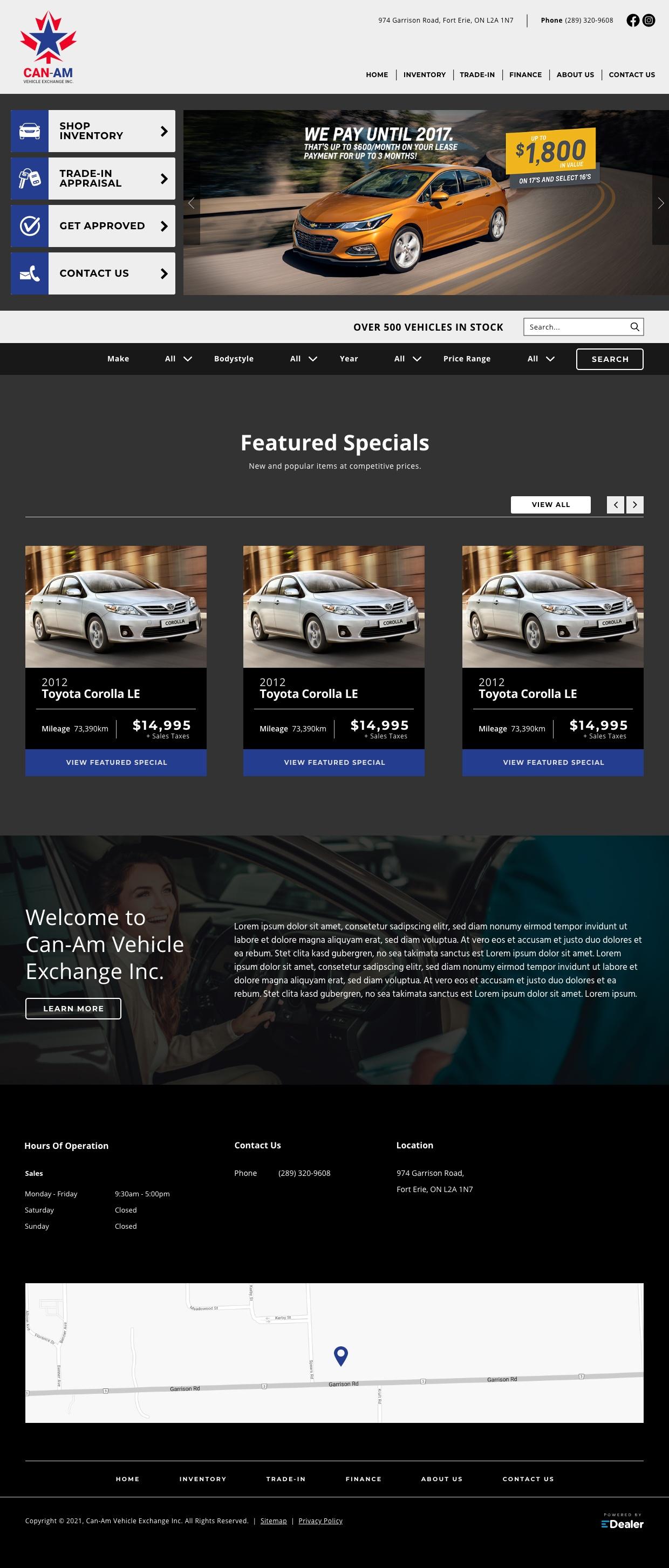 Can-Am Vehicle Exchange Inc