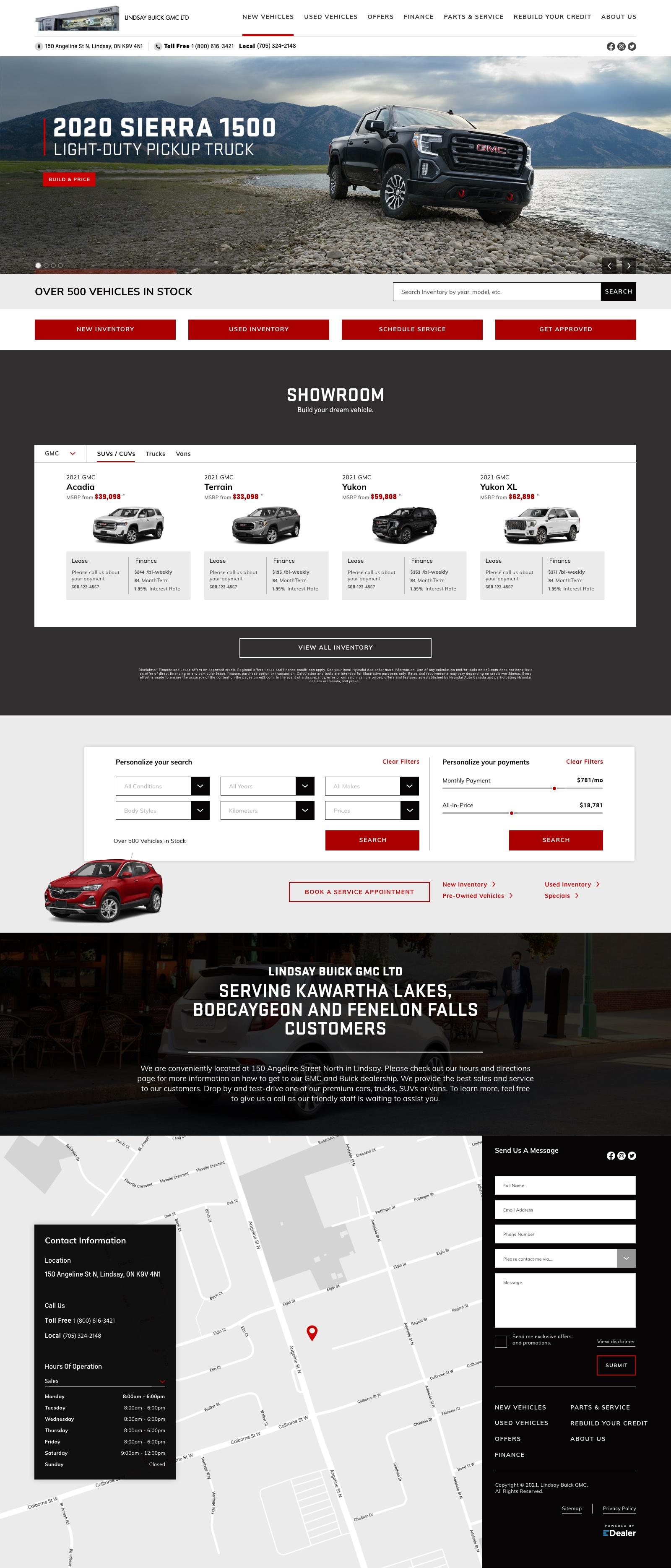 Lindsay Buick GMC Ltd