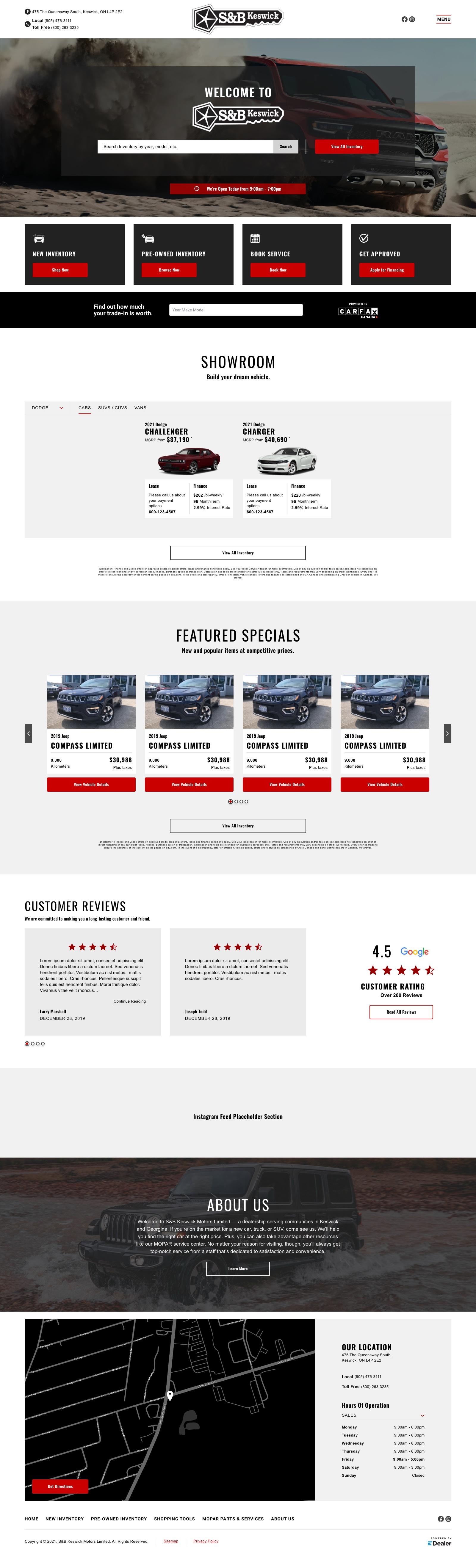 S&B Keswick Motors Ltd