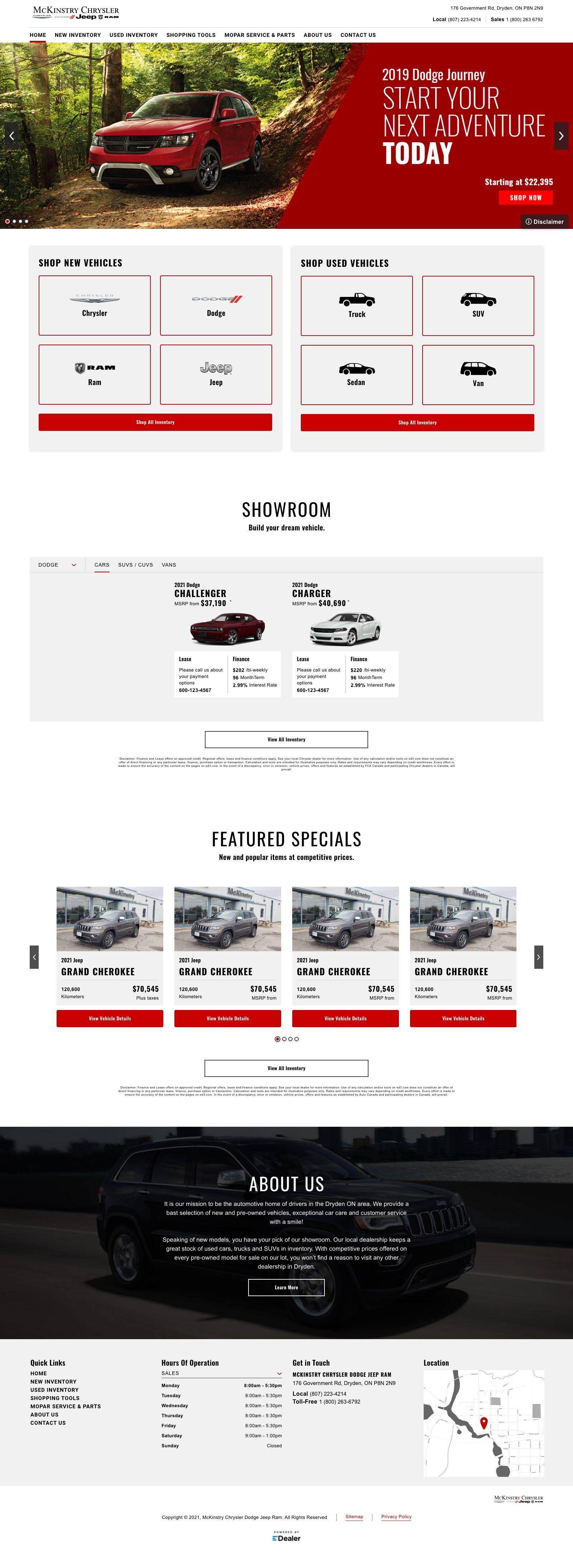 McKinstry Chrysler Dodge Jeep Ram