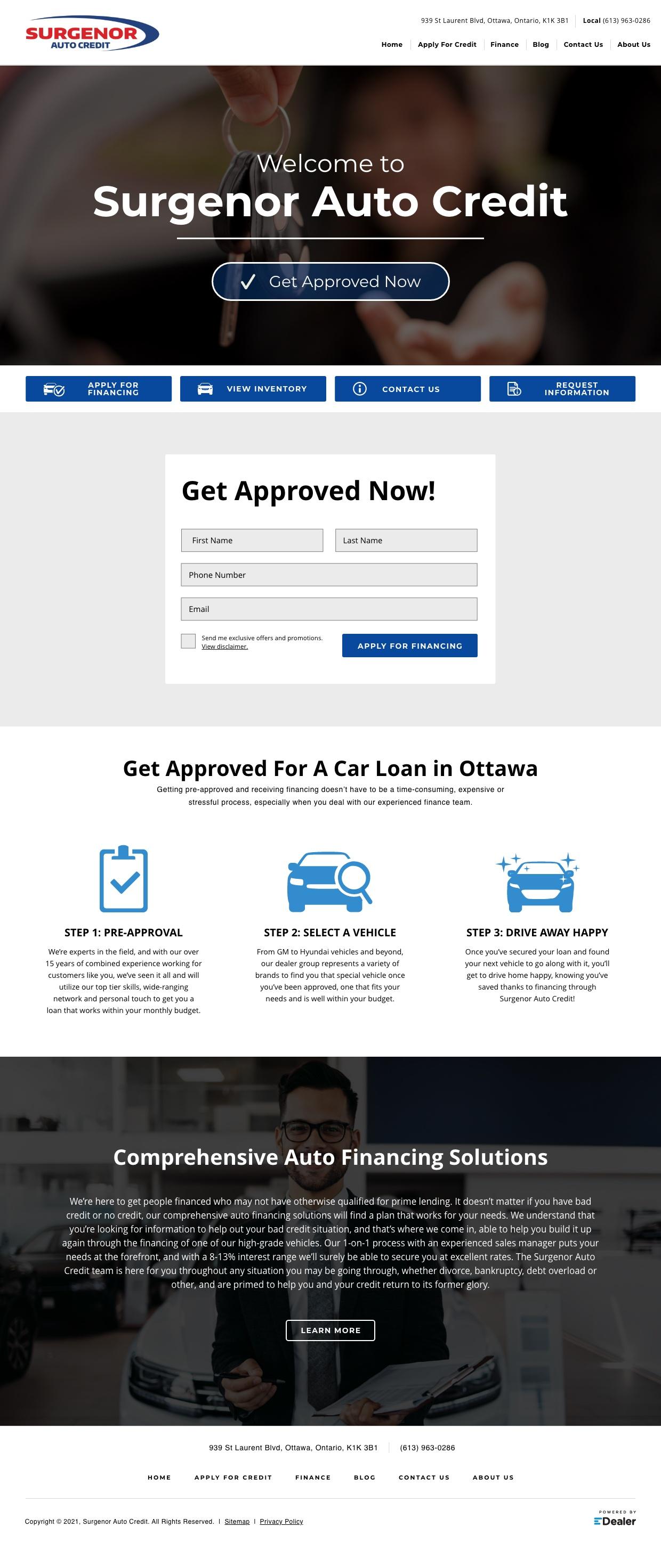 Surgenor Auto Credit